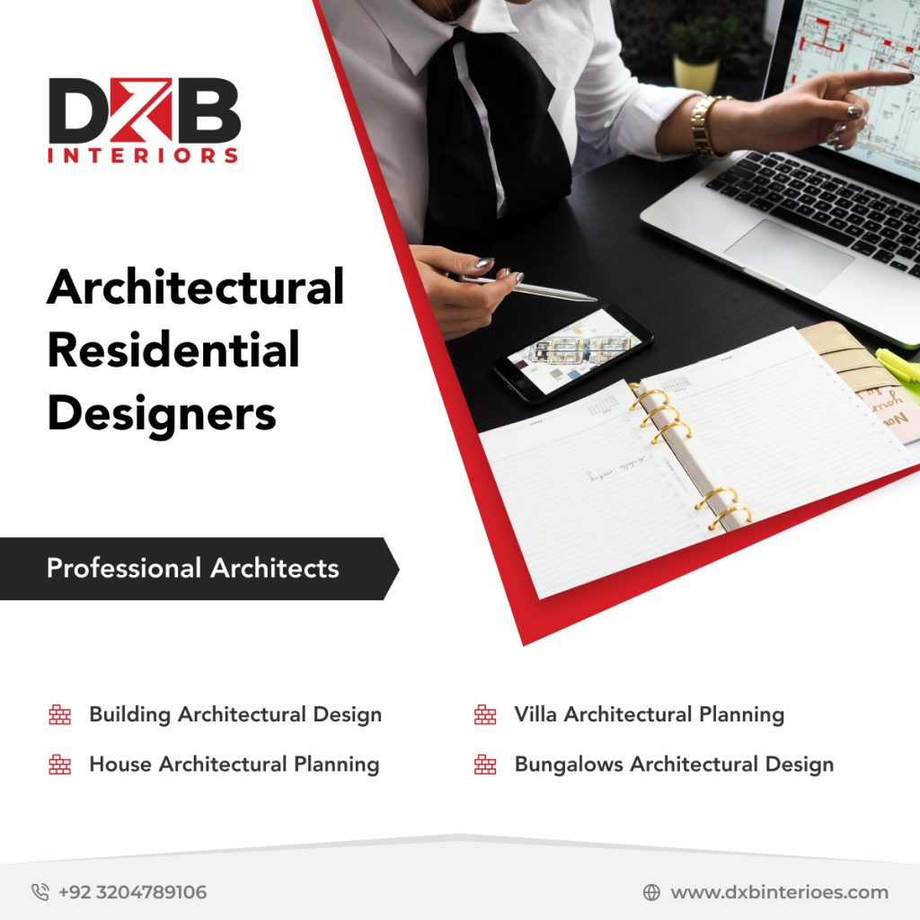 Architect design services in Lahore, architectural residential designers in Lahore or Islamabad.